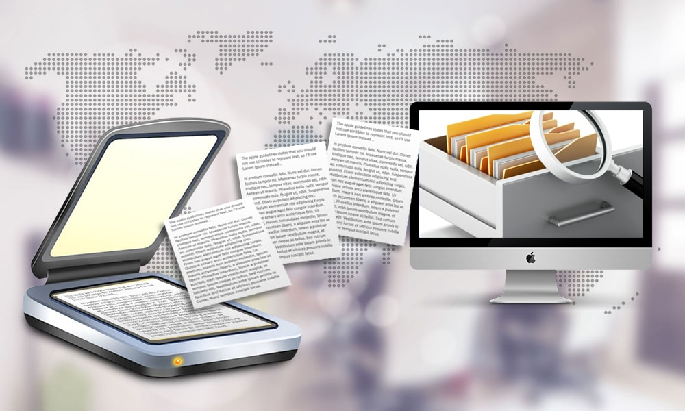 ocr conversion scanning services