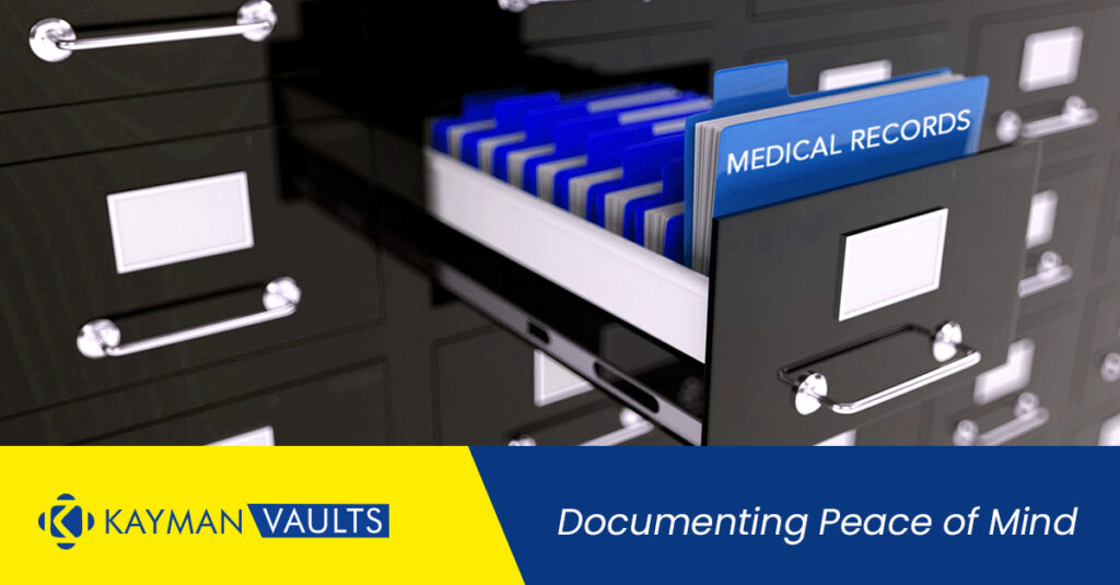 How many years of Medical Records should you maintain