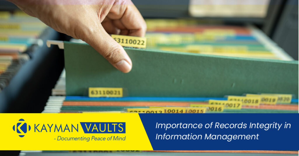 Importance of Records Integrity in Information Management